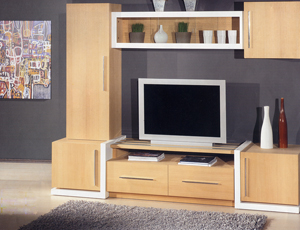 Oak Wall Unit Νο32